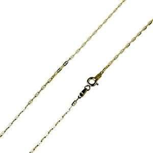 Catenina forzata oro giallo 18 kt unisex mod. C1900G