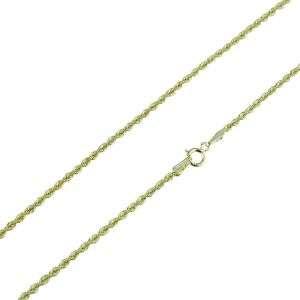 Collana fune laser unisex oro giallo 18 kt mod. C1913G