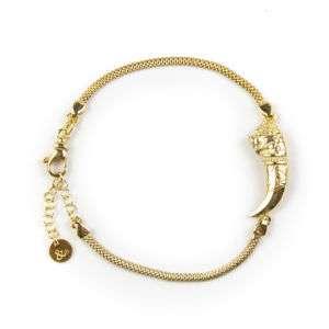 Bracciale donna in argento dorato mod. BR01
