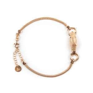 Bracciale donna in argento rosato mod. BR02