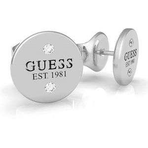 Orecchini Guess in acciaio con punti luce color argento mod. UBE79048