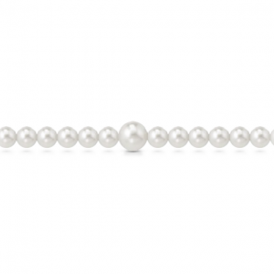 Bracciale filo di perle a molla 5mm + 1 da 8mm mod. 286BMOLLA
