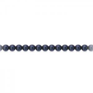 Bracciale di perle nere mod. BRNERO